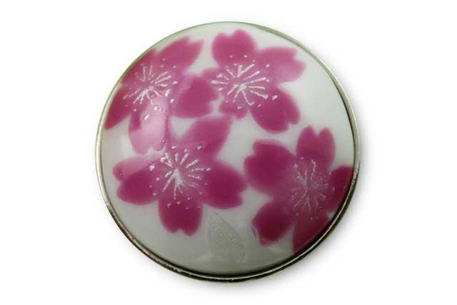 有田焼ボタン 桜