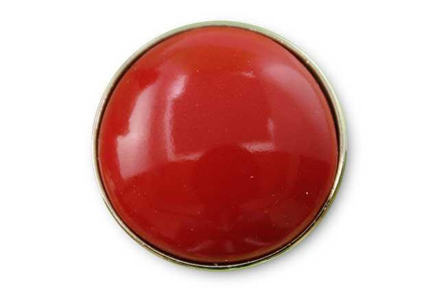 有田焼ボタン 赤