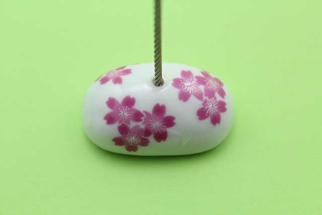 やきもの 焼き物 陶磁器 アクセサリー 小物雑貨 有田焼カードクリップ 桜