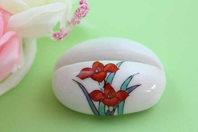 やきもの 焼き物 陶磁器 アクセサリー 小物雑貨 有田焼カード・写真立て アヤメ