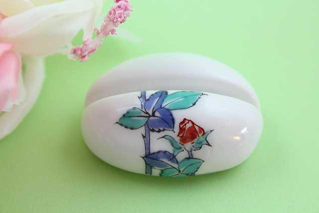 やきもの 焼き物 陶磁器 アクセサリー 小物雑貨 有田焼カード・写真立て バラ