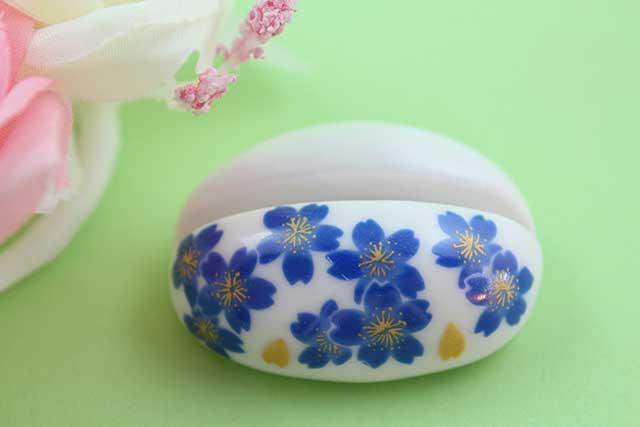 やきもの 焼き物 陶磁器 アクセサリー 小物雑貨 有田焼カード・写真立て ブルー桜