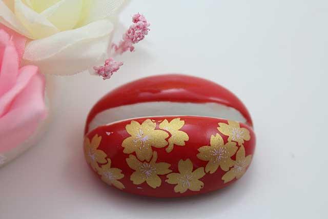 やきもの 焼き物 陶磁器 アクセサリー 小物雑貨 有田焼カード・写真立て 赤金桜