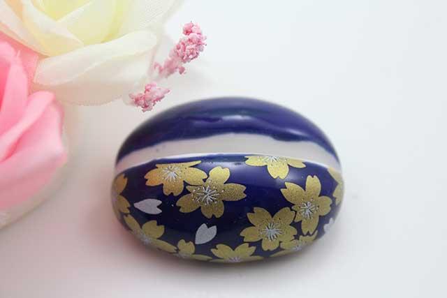 やきもの 焼き物 陶磁器 アクセサリー 小物雑貨 有田焼カード・写真立て るり金桜