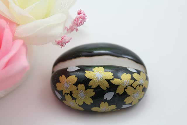 やきもの 焼き物 陶磁器 アクセサリー 小物雑貨 有田焼カード・写真立て 黒金桜