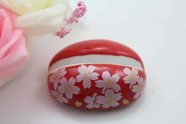 やきもの 焼き物 陶磁器 アクセサリー 小物雑貨 有田焼カード・写真立て 赤銀桜