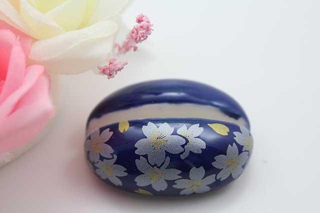 やきもの 焼き物 陶磁器 アクセサリー 小物雑貨 有田焼カード・写真立て るり銀桜