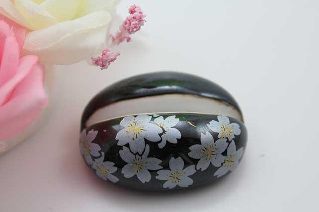 やきもの 焼き物 陶磁器 アクセサリー 小物雑貨 有田焼カード・写真立て 黒銀桜