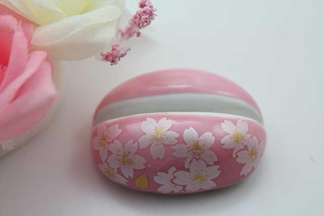 やきもの 焼き物 陶磁器 アクセサリー 小物雑貨 有田焼カード・写真立て ピンク銀桜