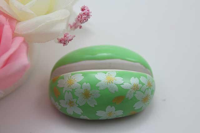 やきもの 焼き物 陶磁器 アクセサリー 小物雑貨 有田焼カード・写真立て グリーン銀桜