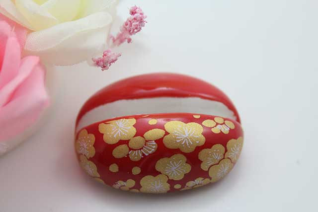 やきもの 焼き物 陶磁器 アクセサリー 小物雑貨 有田焼カード・写真立て 赤金梅