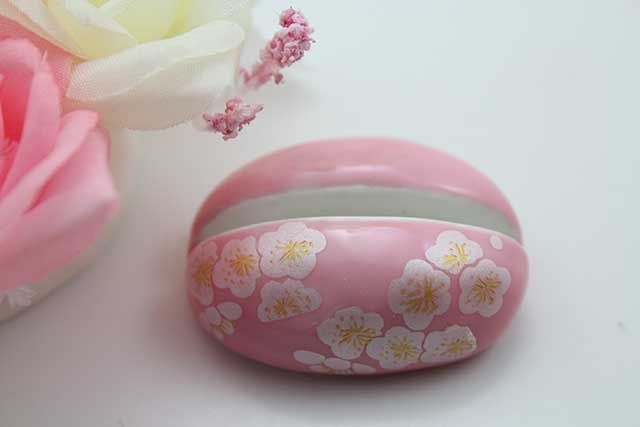 やきもの 焼き物 陶磁器 アクセサリー 小物雑貨 有田焼カード・写真立て ピンク銀梅