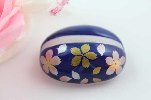 やきもの 焼き物 陶磁器 アクセサリー 小物雑貨 有田焼カード・写真立て るり桜吹雪(ピンク)
