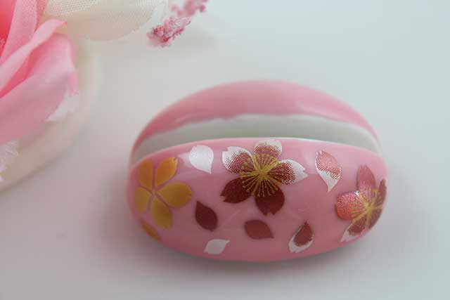 やきもの 焼き物 陶磁器 アクセサリー 小物雑貨 有田焼カード・写真立て ピンク桜吹雪