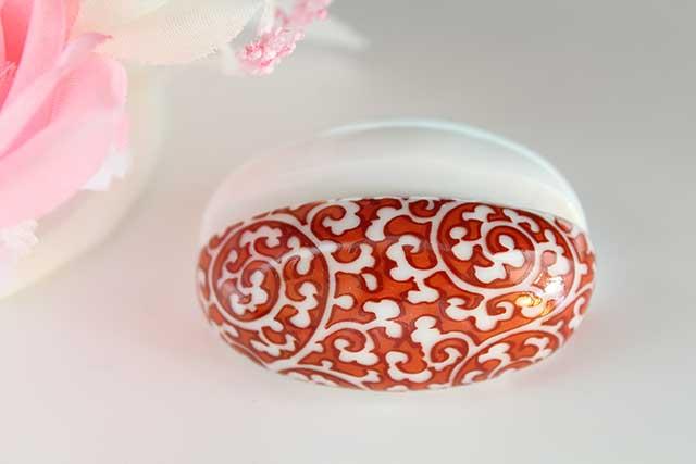 やきもの 焼き物 陶磁器 アクセサリー 小物雑貨 有田焼カード・写真立て 赤唐草