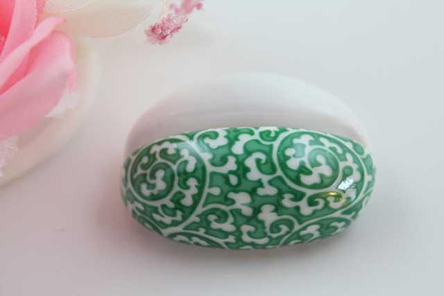 やきもの 焼き物 陶磁器 アクセサリー 小物雑貨 有田焼カード・写真立て 緑唐草