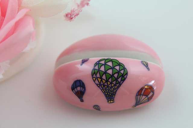 やきもの 焼き物 陶磁器 アクセサリー 小物雑貨 有田焼カード・写真立て ピンクバルーン
