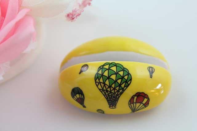 やきもの 焼き物 陶磁器 アクセサリー 小物雑貨 有田焼カード・写真立て 黄バルーン