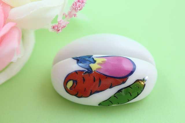 やきもの 焼き物 陶磁器 アクセサリー 小物雑貨 有田焼カード・写真立て 人参茄子