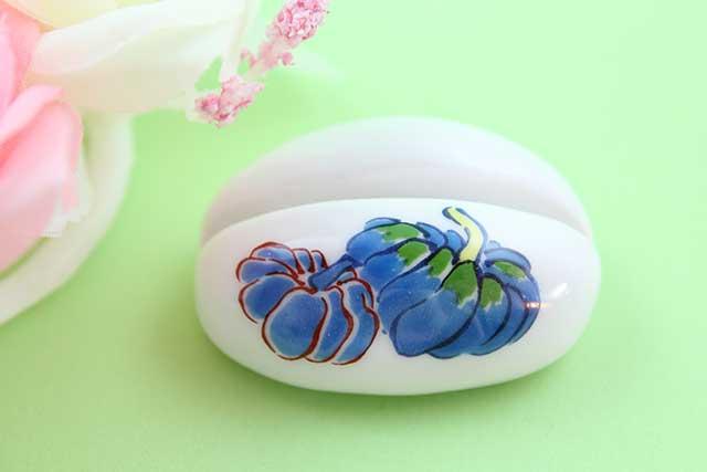 やきもの 焼き物 陶磁器 アクセサリー 小物雑貨 有田焼カード・写真立て かぼちゃ
