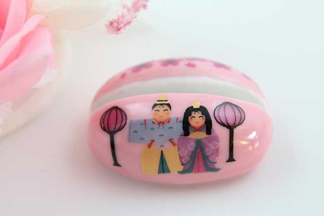 やきもの 焼き物 陶磁器 アクセサリー 小物雑貨 有田焼カード・写真立て ピンクおひな様