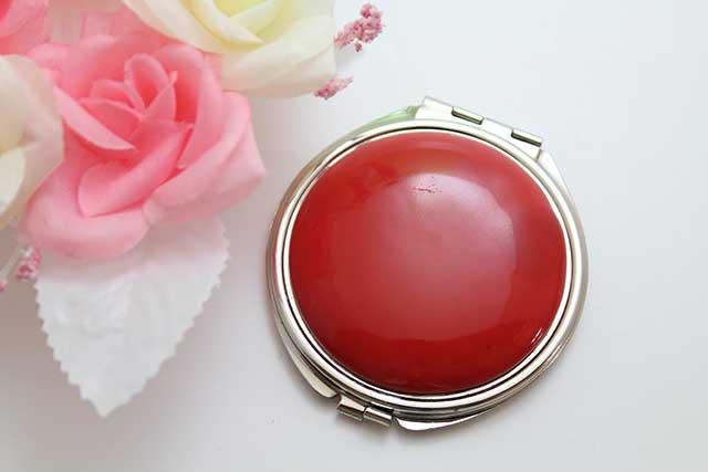 やきもの 焼き物 陶磁器 アクセサリー 小物雑貨 有田焼コンパクトミラー 赤