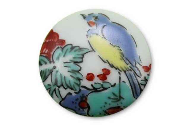 やきもの 焼き物 陶磁器 アクセサリー 小物雑貨 有田焼ゴルフマーカー(クリップ式) 花鳥