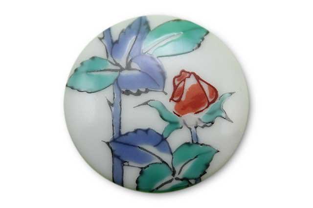 やきもの 焼き物 陶磁器 アクセサリー 小物雑貨 有田焼ゴルフマーカー(クリップ式) バラ