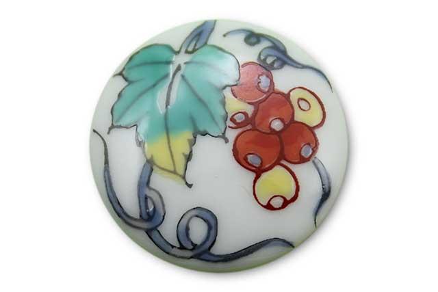 やきもの 焼き物 陶磁器 アクセサリー 小物雑貨 有田焼ゴルフマーカー(クリップ式) ぶどう