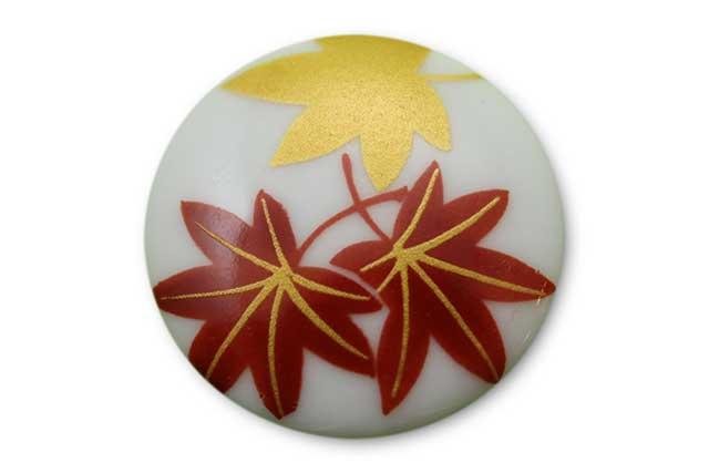 やきもの 焼き物 陶磁器 アクセサリー 小物雑貨 有田焼ゴルフマーカー(クリップ式) もみじ