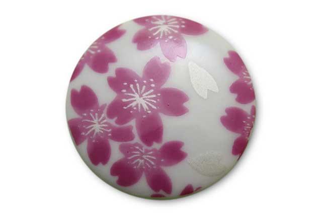 やきもの 焼き物 陶磁器 アクセサリー 小物雑貨 有田焼ゴルフマーカー(クリップ式) 桜
