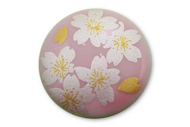 やきもの 焼き物 陶磁器 アクセサリー 小物雑貨 有田焼ゴルフマーカー(クリップ式) ピンク銀桜