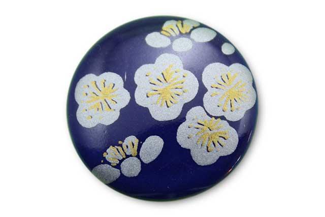 やきもの 焼き物 陶磁器 アクセサリー 小物雑貨 有田焼ゴルフマーカー(クリップ式) るり銀梅