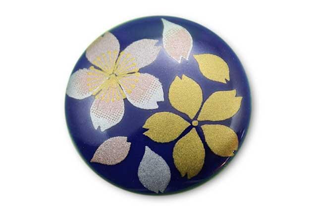 やきもの 焼き物 陶磁器 アクセサリー 小物雑貨 有田焼ゴルフマーカー(クリップ式) るり桜吹雪(ピンク)