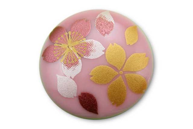やきもの 焼き物 陶磁器 アクセサリー 小物雑貨 有田焼ゴルフマーカー(クリップ式) ピンク桜吹雪