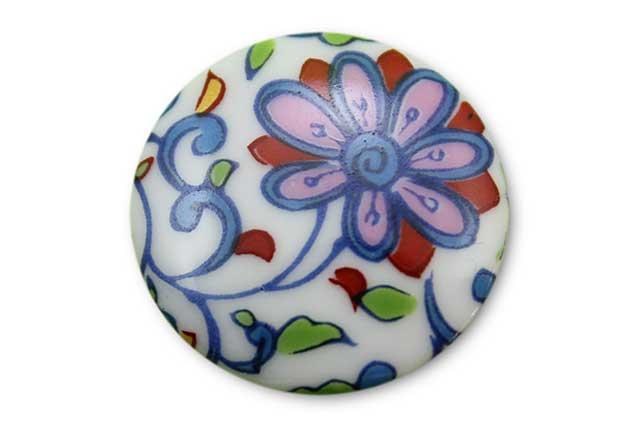 やきもの 焼き物 陶磁器 アクセサリー 小物雑貨 有田焼ゴルフマーカー(クリップ式) 花唐草