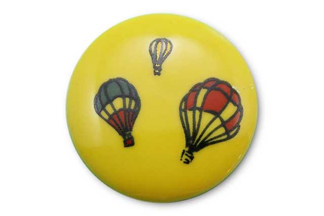 やきもの 焼き物 陶磁器 アクセサリー 小物雑貨 有田焼ゴルフマーカー(クリップ式) 黄バルーン