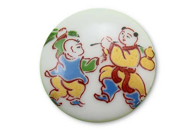 やきもの 焼き物 陶磁器 アクセサリー 小物雑貨 有田焼ゴルフマーカー(クリップ式) 唐子