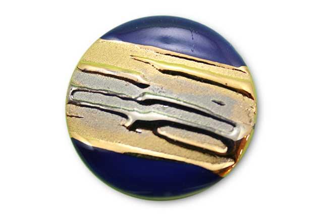 やきもの 焼き物 陶磁器 アクセサリー 小物雑貨 有田焼ゴルフマーカー(クリップ式) 流星ブルー