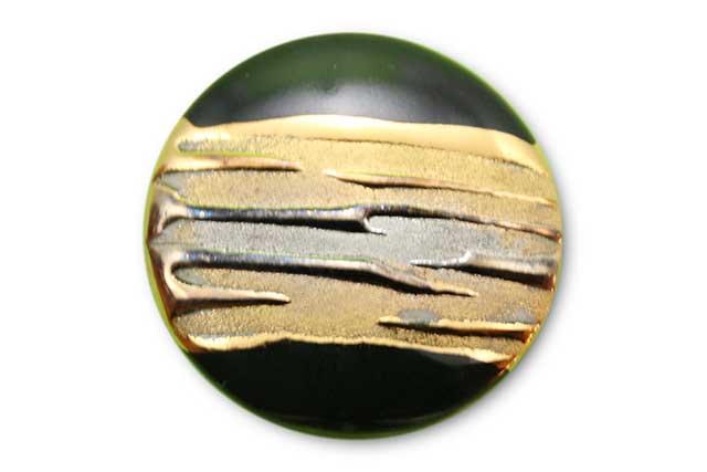やきもの 焼き物 陶磁器 アクセサリー 小物雑貨 有田焼ゴルフマーカー(クリップ式) 流星ブラック