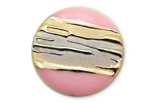 やきもの 焼き物 陶磁器 アクセサリー 小物雑貨 有田焼ゴルフマーカー(クリップ式) 流星ピンク