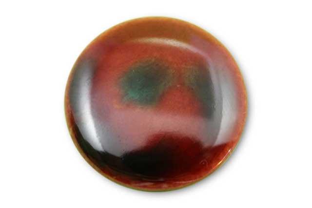 やきもの 焼き物 陶磁器 アクセサリー 小物雑貨 有田焼ゴルフマーカー(クリップ式) 赤あずき