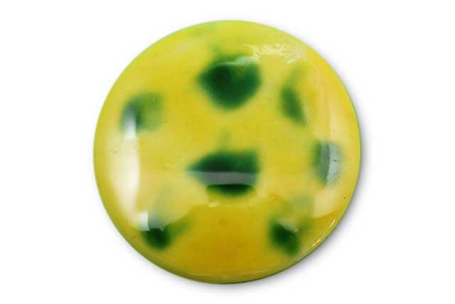 やきもの 焼き物 陶磁器 アクセサリー 小物雑貨 有田焼ゴルフマーカー(クリップ式) 黄グリーン