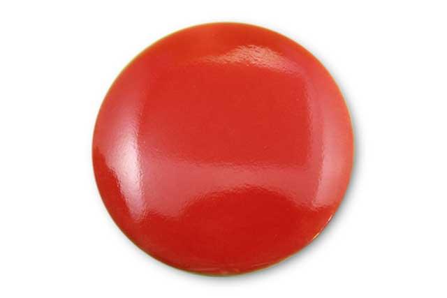 やきもの 焼き物 陶磁器 アクセサリー 小物雑貨 有田焼ゴルフマーカー(クリップ式) 赤