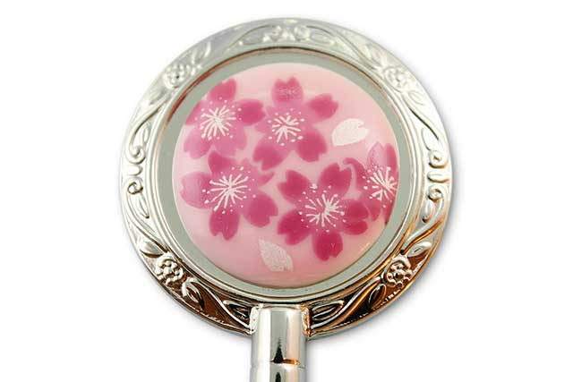 有田焼バッグ掛け(ハンガー型) ピンク桜