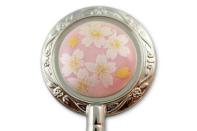 有田焼バッグ掛け(ハンガー型) ピンク銀桜