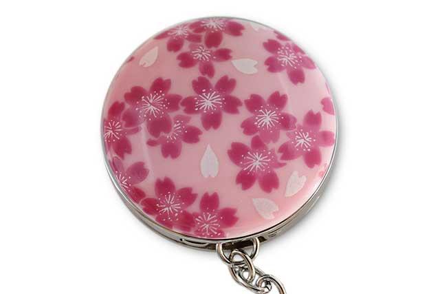 有田焼バッグ掛け(サークル型)  ピンク桜