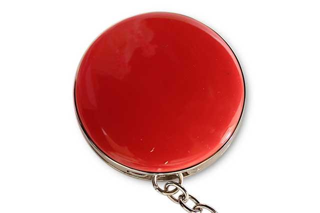 有田焼バッグ掛け(サークル型)  赤