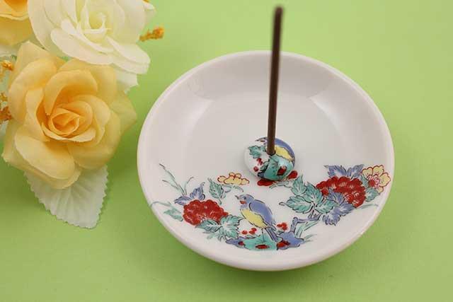 やきもの 焼き物 陶磁器 アクセサリー 小物雑貨 有田焼香立て 花鳥