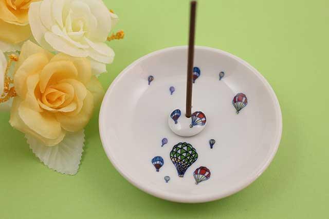やきもの 焼き物 陶磁器 アクセサリー 小物雑貨 有田焼香立て バルーン